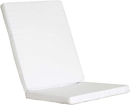 All Things Cedar TC19-2-W Folding Chair Cushions Set of 2