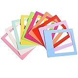 "Polaroid 10 Colorful 3x4"" Mini Photo Picture Frames For 2x3 Photo Paper (POP)"