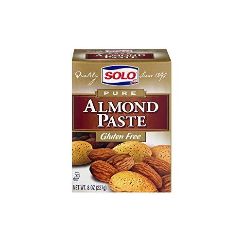 - Solo Pure Almond Paste -- 8 oz