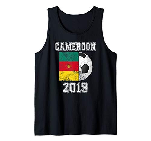 CAMEROON Flag 2019 France - Women's World Soccer Tournament Tank Top