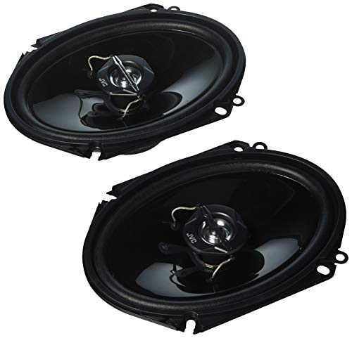 - JVC CSJ6820 Speaker is 6X8 Inches with 2 Way Coaxial with 25