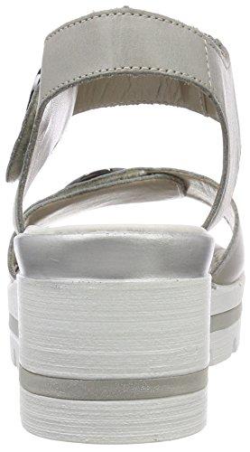 Femme Whitelightblue Cheville Remonte Sandales Bride D1565 Bleu zCzYqI