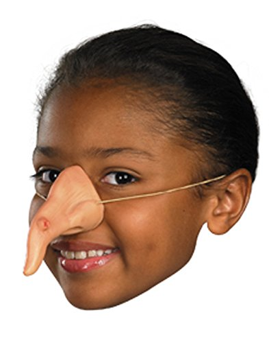 Witch Mask (Disguise Costumes Witch Nose, Child)