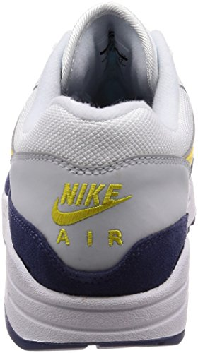 Max Recall Running Zapatillas white blue Nike 1 De Para Blanco tour 105 Air Yellow Hombre OxZqnXqpw5