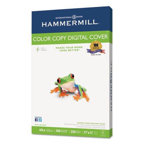 Hammermill - Copier Digital Cover Stock, 60 lbs., 17 x 11, White, 250 Sheets 12255-6 (DMi PK Photo #4