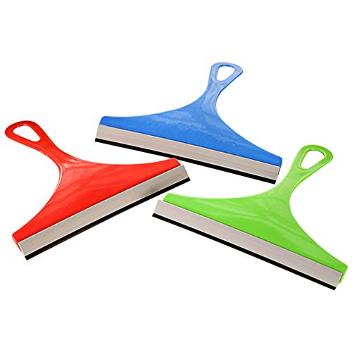 Gilroy Silicone Blade Squeegee for Bathroom Mirror Shower Wiper Window Glass - Gilroy Stores