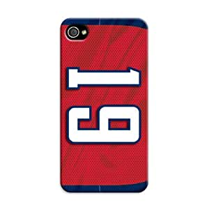DIY Individualized NHL Washington Capitals Protective Hard Case for iPhone 4/4S