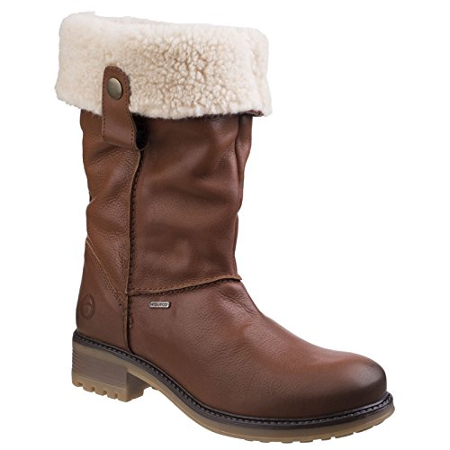 Tan Size Leather Boots Cassington Cotswold 6 Womens Tan UK xqH6tCw