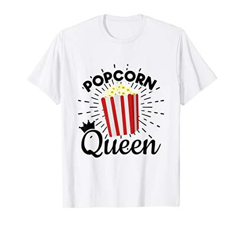- Popcorn Shirts For Girls - Popcorn Queen
