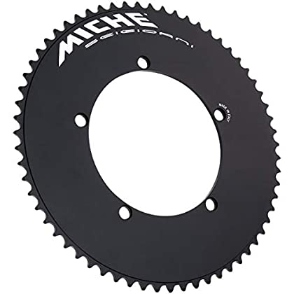 Image of Chainrings Miche 2286615901 Unisex Adult Chainring, Black, One Size