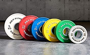 REP Change Plates for Olympic Weightlifting – Perfect for PR, Powerlifting, and Incremental Weight Increases
