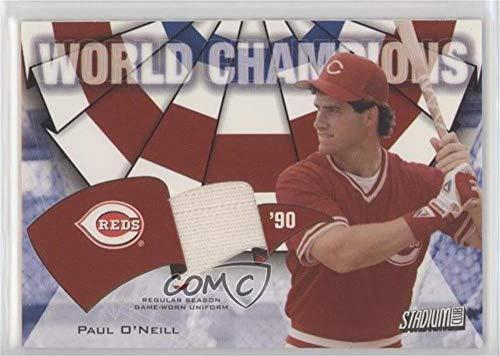 Paul O'Neill (Baseball Card) 2002 Topps Stadium Club - World Champions Relics #WC-PO