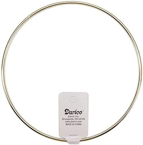 (Darice Bulk Buy Gold Tone Metal Macrame Ring 6 inch 1719 (12-Pack))