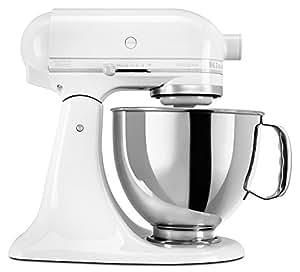 KitchenAid KSM150PSWW Artisan  5-Quart Stand Mixer, White