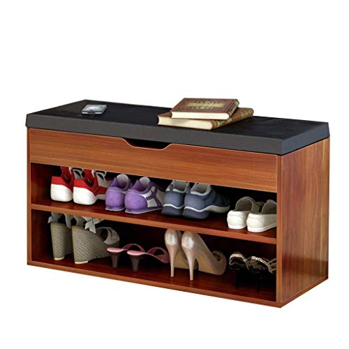 Shoe Rack/Shoe Cabinet Simple Modern Home Shoe Bench Console Cabinet Practical Storage Design Breathable Comfort Load 80kg Size: Length 80cm Width 30cm Height 45cm Peaceip (Color : ()