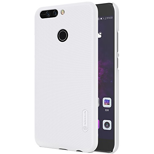 Nillkin Case for Huawei Honor 8 Pro Super Frosted Hard Back Cover Hard PC White Color