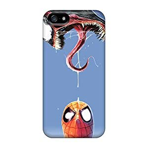 Hot Style OnL943dAkR Protective Cases Covers For Iphone5/5s(spiderman And Venom)