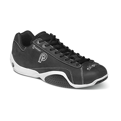 piloti 00100BLACK-WHITE10 - Shoes Racing Piloti