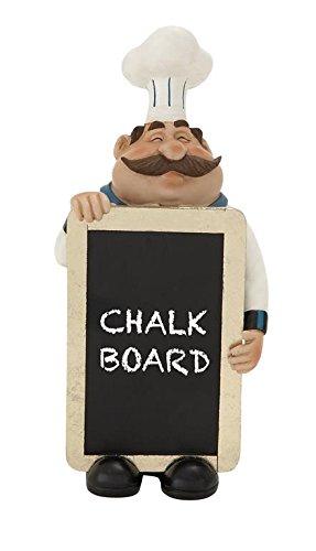 Deco 79 20711 Polystone Chef Chalkboard (Chefs Chalkboard compare prices)