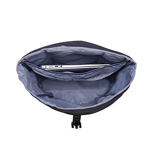 KAUKKO Casual Daypacks&multipurpose backpacks,Outdoor Backpack,Travel Casual Rucksack,Laptop Backpack Fits 15'' (04black) by KAUKKO (Image #8)