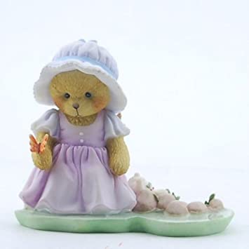 Cherished Teddies Bear Pond Butterfly 2013 Aubrey