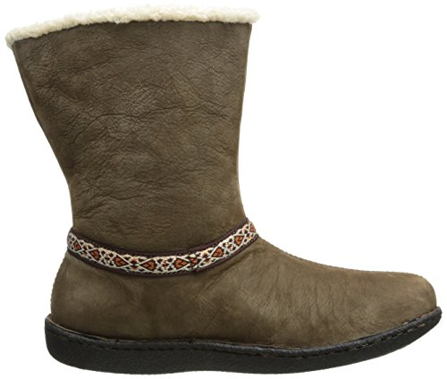 Keen Mujeres Galena Mid Snow Bota Cascade Brown