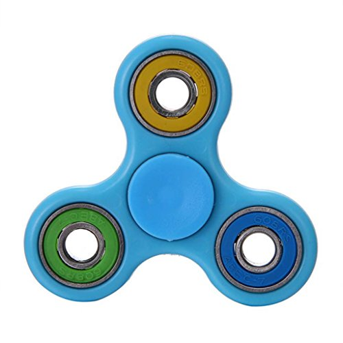 Luweki Glowing Hand Spinner focus Toys EDC Fidget Spinner Toy Austism ADHD Education & Learning Toys Choice (Glow In The Dark Toy Parachute)