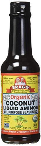 - Bragg Organic Coconut Aminos Soy-Free, 10 FL OZ (Original Version)