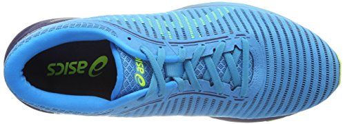 Asics Uomini Dynaflyte 2 Scarpe Da Corsa Turchese (sicurezza Islanda Giallo Blu Blu Indaco 4107)