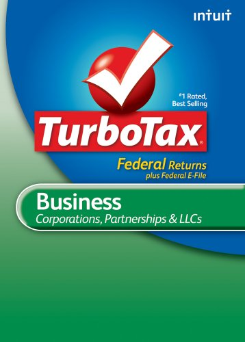 TurboTax Business Federal+ e-File 2010 [Download] [OLD VERSION] by Intuit