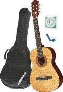 GUITARRA CLASICA - Hohner (HC02P) Pack Estudio 1/2: Amazon.es ...