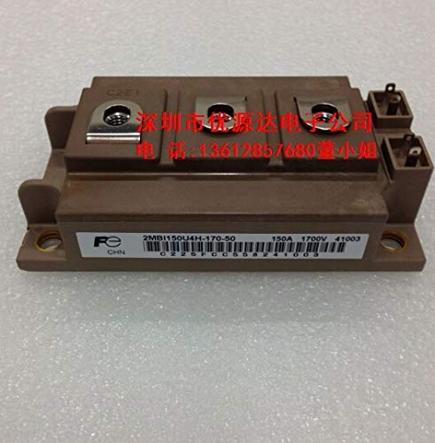- Pukido 2MBI150U4H-170-50 2MBI150VH-170-50 2MBI100U4H-170 Rectifier Bridge IGBT Power Module New Original - (Plug Type: 2MBI150VH-170-50)