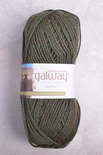 Plymouth Galway Worsted 750 Meadow Grass Heather