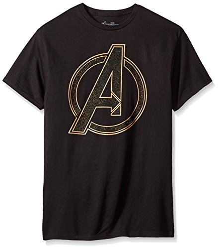 Marvel Men's Outer Logo Short Sleeve T-Shirt