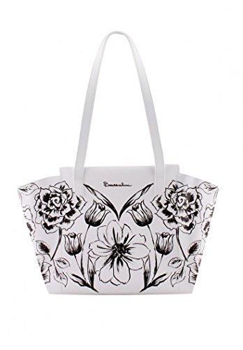 Braccialini Fantasy bag Fiore/Bianco Precio Barato En Línea Precio Increíble xfYjqw4J7