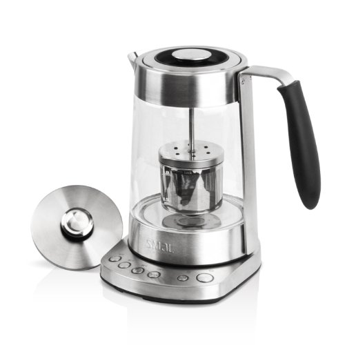 SMAL WK-0816 Temp Programmable Combined Tea Maker and Electric Kettle with Tea Filter Lid, 1.7-Liter