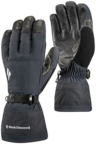 Black Diamond Soloist Cold Weather Gloves, Black, Large by Black Diamond