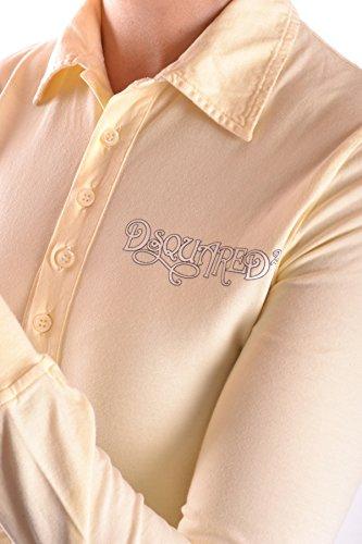 DSQUARED2 Polo Donna MCBI107003O Cotone Giallo