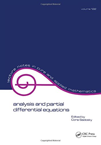 (Analysis and Partial Differential Equations: A Collection of Papers Dedicated to Mischa Cotlar (Lecture Notes in Pure and Applied Mathematics))