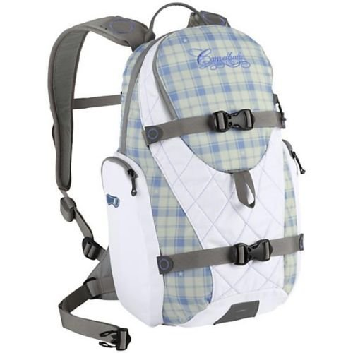 Camelbak Oya Hydration Pack (White/ Purple Plaid), Outdoor Stuffs