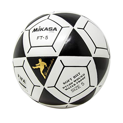 7f0bf6fde Mikasa FT5 Goal Master Soccer Ball, Black/White, Size 5 - Buy Online ...