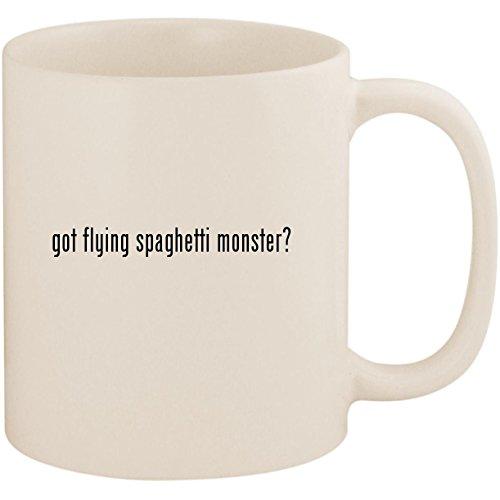 got flying spaghetti monster? - 11oz Ceramic White Coffee Mug Cup, White ()