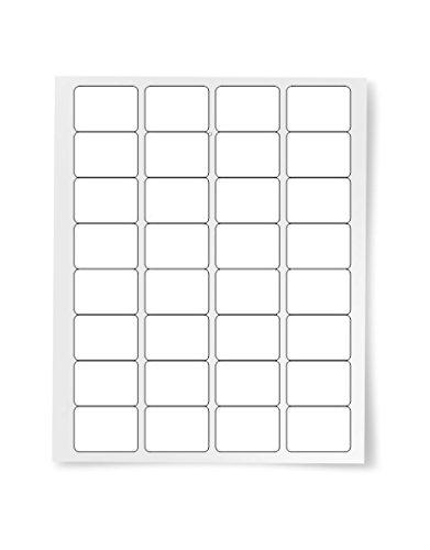 Labels & Stickers Home & Garden White 2.33 X 3.38 Digiorange ...