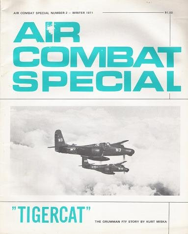 """Used, Air Combat Special Number 2, Winter 1971: """"Tigercat"""". for sale  Delivered anywhere in USA"""