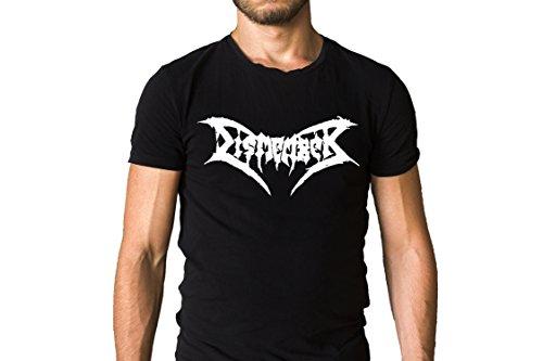 Metal Band Shirt - Dismember Metal Band 1988 Title Logo Black T-Shirt