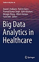 Big Data Analytics in Healthcare Front Cover
