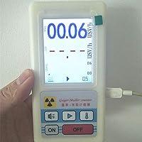 Geiger - Detector de Radiación Nuclear, Detector