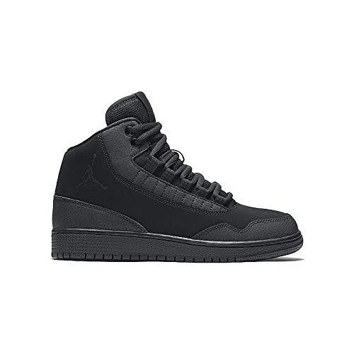 Nike Air Jordan Executive Mens Hi Top Basketball Trainers 820240 Sneakers Shoes (UK 7.5 US 8.5 EU 42, Black Black Black 010) (2014 Jordan Shoes Men)