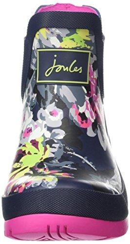 Joules Donna Wellibob Rain Boot Francese Navy / Floreale