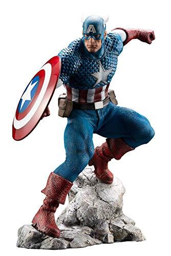 America Statue - Kotobukiya Marvel Captain America Artfx Premier Statue